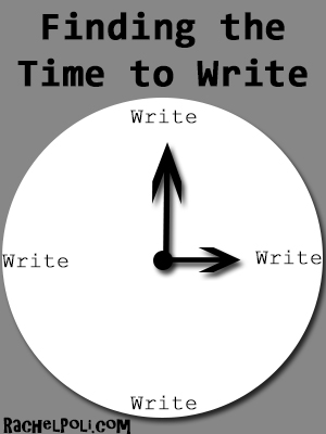 Finding the Time to Write
