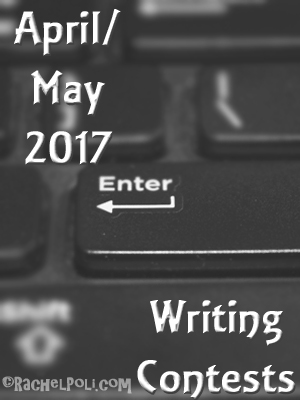 Writing contests for April and May 2017