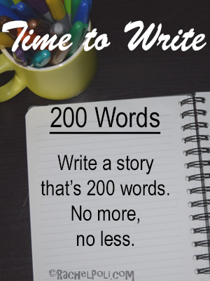 Time to write: writing prompt, flash fiction